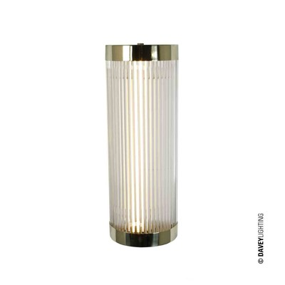 Original BTC Pillar Wide DP7210/BR/WE/IP44 - leštěná mosaz